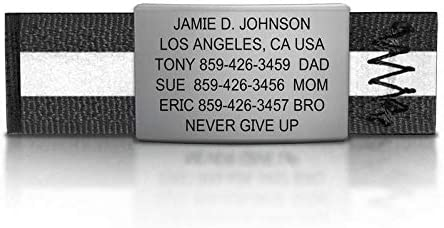 19mm Wide The Shoe ID Road ID Premium Shoe Tag for Athletes