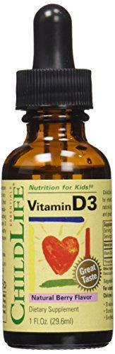 Childlife Vitamin D3, Berry, 1 Fluid Ounce