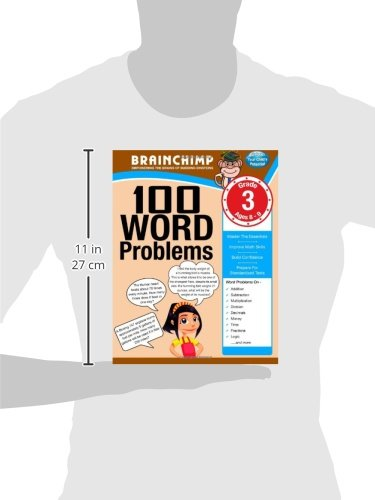 Amazon.com: 100 Word Problems : Grade 3 Math Workbook ...