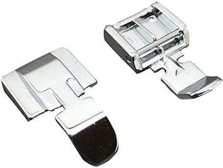 Prensatelas de Cremallera Doble Compatible con compatible para ...