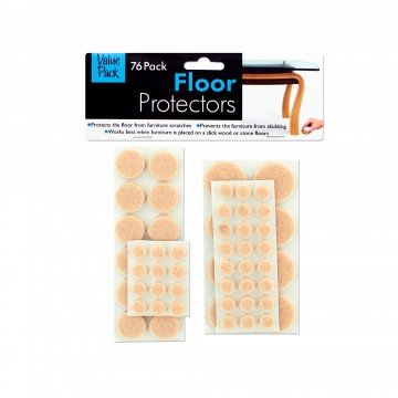 76 pack floor protector pads - Executive Bookends
