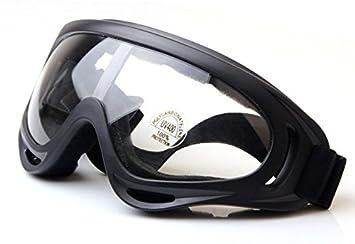 Worldshopping4U Tactical UV400 viento Polvo Kite Surfing Jet Ski Gafas de protección ocular Gafas Airsoft,