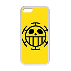 One Piece Trafalgar Law Flag Cell Phone Case for Iphone 5C