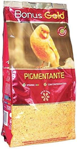 Bonus Gold Pastoncino Per Canarini A Fattore Rosso Pigmentante 700gr Amazon It Prodotti Per Animali Domestici