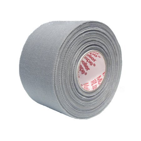 M-Tape Colored Athletic Tape - Gray, 32 Rolls by Mueller