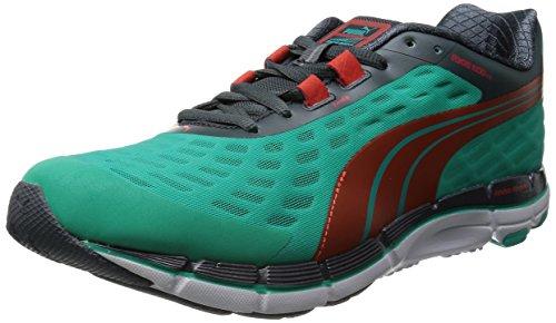 Puma Faas 600 V2 - Zapatillas de running Pool Green/Grenadine/Turbulence/White