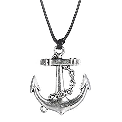 collier homme marin