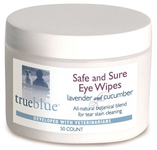 TrueBlue Safe and Sure Eye Wipes 50 Pads, My Pet Supplies