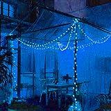 Solar String Lights Outdoor 60 Led 35.6 FT Crystal