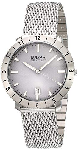 (Bulova Unisex Accutron II - 96B206 Stainless Steel Watch (Silver))