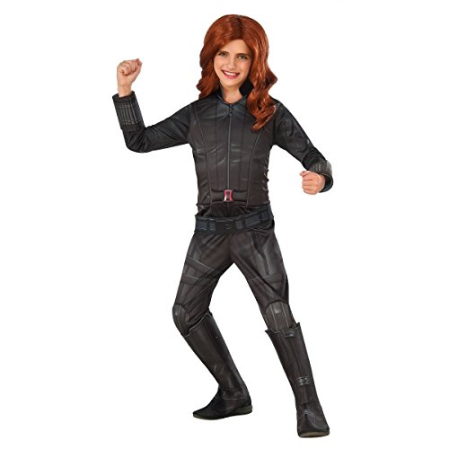 Rubie's Costume Captain America: Civil War Black Widow Child Costume, Large -