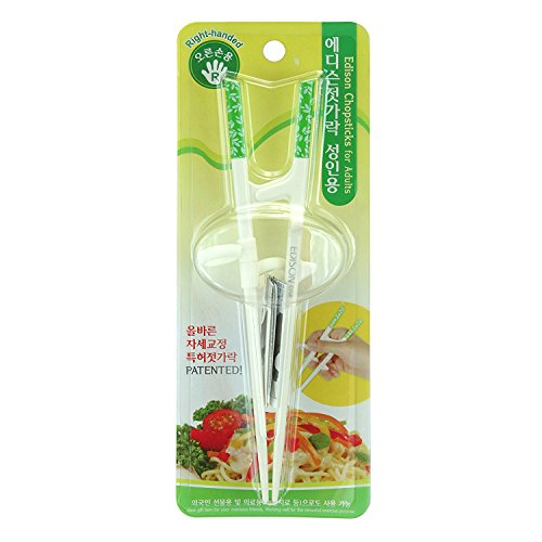 (Edison Training/Helper Chopsticks for Right Handed Adult)
