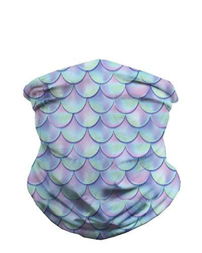 iHeartRaves Pastel Plurmaid Seamless Mask Bandana