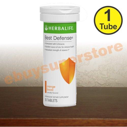 Herbalife Best Defense - Orange Boost (10 Tablets)