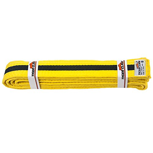 Uniform Belt - Light Yellow With Black Stripe ()