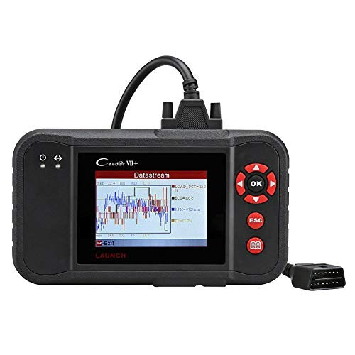 Launch Creader VII+ OBD2 Scanner ABS SRS Transmission Engine Code Reader Diagnostic Scan Tool