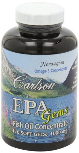 Carlson Epa Gems, 120 Softgels by Carlson (Image #8)