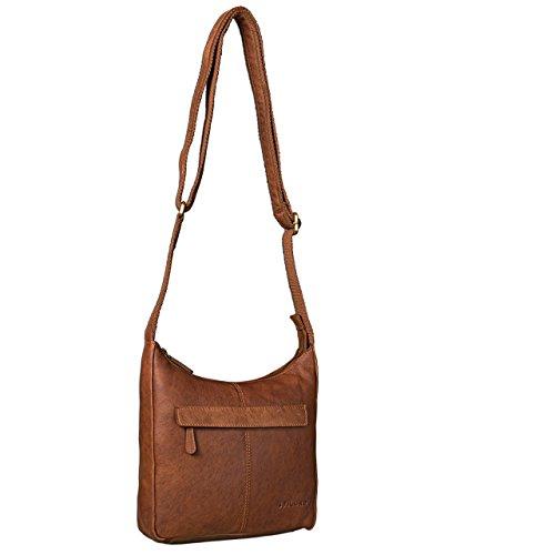 à Besace femme en sac Marron STILORD Cognac rouge Sac main Sacs bandoulière petite cuir qFwx0RaI