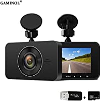 dash cam 1296P,HD Video Recorder,Sony Sensor 6G Lens 170 Wide Angle 3 Inch Screen WDR Loop Recording