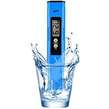 PH Meter, PH Meter 0.01 PH High Accuracy Water Quality Tester with 0-14 PH Measurement Range, PH Meter for Water/Brewing/Food/Soil/Sauce/Laboratory, TDS Meter, PH Pen