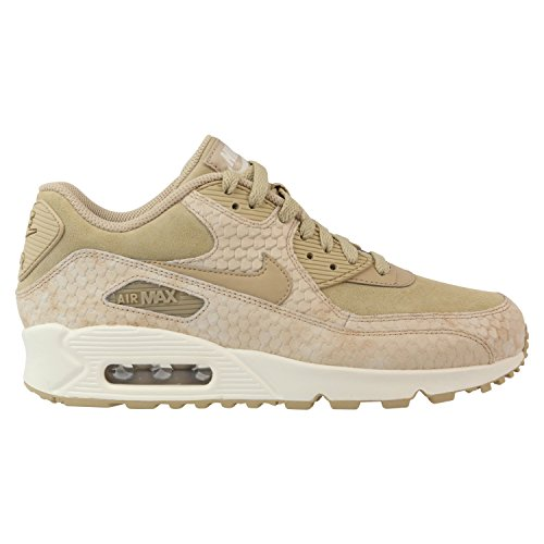 Nike Women's Air Max 90 PRM Linen/Linen Sail Running Shoe 8.5 Women US