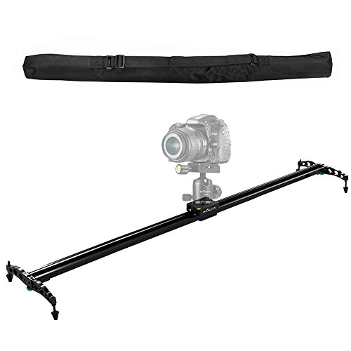 "IMORDEN 40""/100cm Ball-bearing Typed Camera Slider Track for DSLR and Video Camera, Smartphone and Gopro with Environmental Carrying Bag(Max Load: 7kg/15lbs)for Youtuber and Film Maker, Use on Tripods"