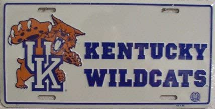 Kentucky Wildcats License Plate Frame NCAA Pride Plates