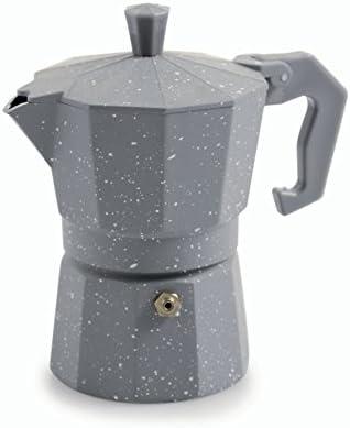 Galileo Casa Mármol Cafetera Moka Tradicional, Aluminio: Amazon.es ...