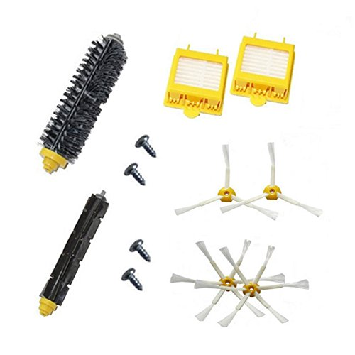 6x Hepa Filters /& 4x sided brushes Kit for iRobot Roomba 760 770 780 790