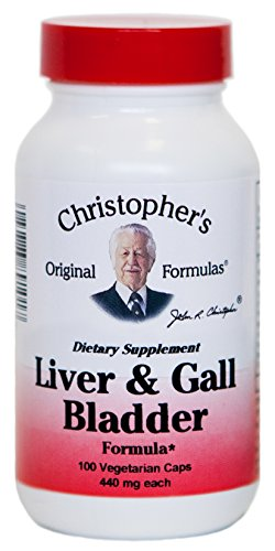 Dr. Christopher's Original Formulas Liver and Gall Bladder Formula Capsules, 100 Count