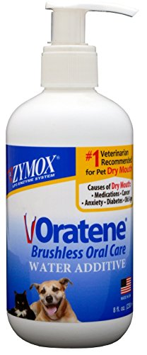 Zymox Oratene Biotene Drinking Water Additive Dental Care Pet Dog 8 oz Bottle