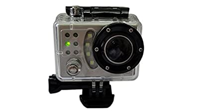 Emperor of Gadgets® Digital Sports Action Camera - Waterproof 1080P Video Camera DVR for Car, Bike, Sport Helmet