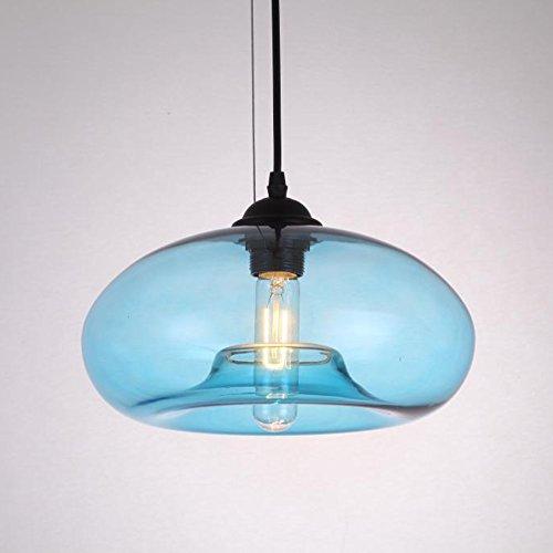 Blue Pendant Ceiling Light in US - 9