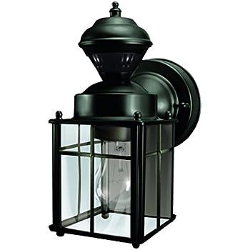 Heathco HZ-4132-MW White Bayside Mission Style Motion Activated Lantern