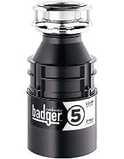 InSinkErator Food Waste Disposer, Badger 5, 1/2 HP Continuous Feed Garburator