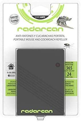 Radarcan SC-10RC Anti Ratones y Cucarachas Portatil: Amazon.es: Jardín