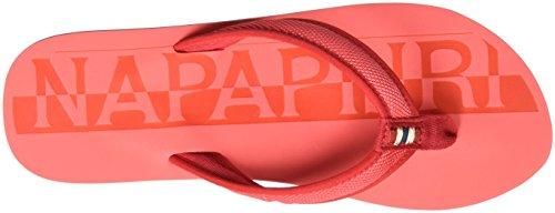 Napapijri Ariel, Chanclas para Mujer Rot (crab apple red)