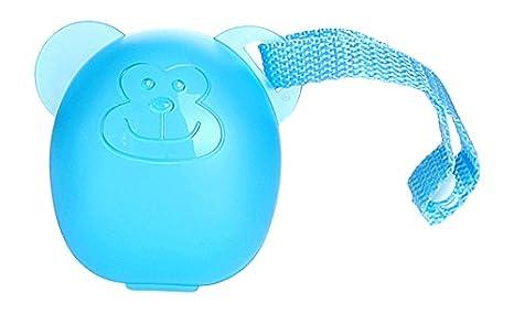 DIAGO Schnullerbox Schnulleraufbewahrung, blau Euret 3000 GmbH 30078.74983