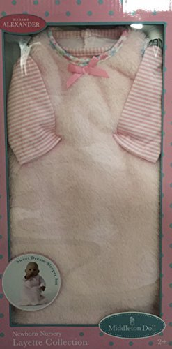 Madame Alexander Newborn Doll (Madame Alexander Lee Middleton 19 inch Doll Outfit Sweet Dream Sleeper)