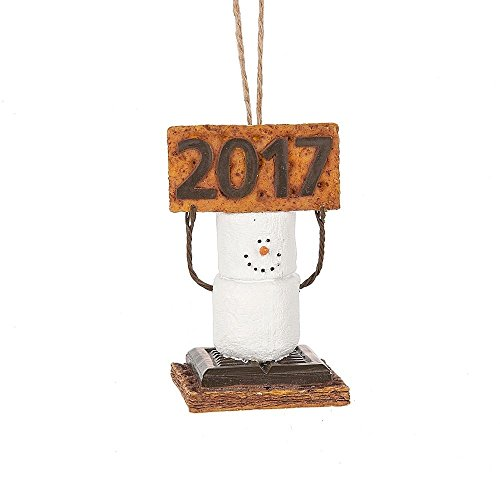 2017 S'mores Original Dated Smores Snowman Ornament