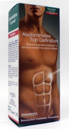 Somatoline Homme abdominale Top Traitement de définition pour les hommes 400 Ml