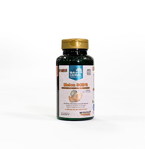 NutraCentials Melon SOD Nx - the body039s most POWERFUL antioxidant 60 veggie caps Discount