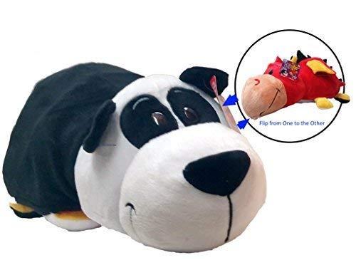 - FlipaZoo 16 inch Panda/ Ember Dragon