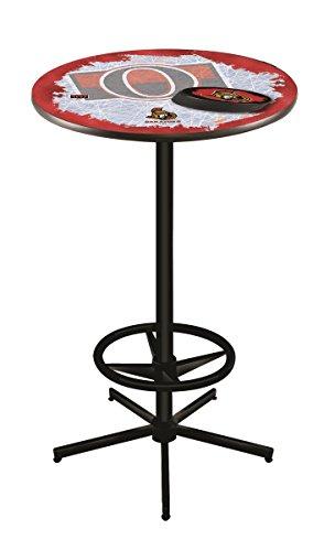 (Holland Bar Stool Co. NHL Ottawa Senators Officially Licensed Pub Table, 36