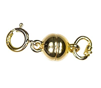 14K Gold Converters Magnetic Clasp 6mm Ball by ugems