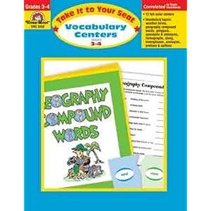 Evan-Moor Vocabulary Centers 3-4