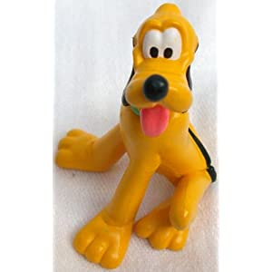 2.5″ Disney Mickey Mouse Dog Pluto Pvc Figure Doll Toy, Cake Topper