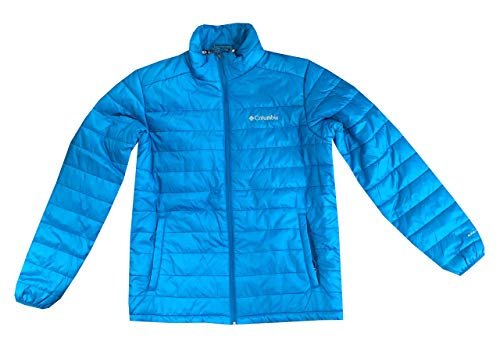 Columbia Mens Crested Butte II Omni-Heat Jacket (M, Sky - Columbia Men Blue Jacket