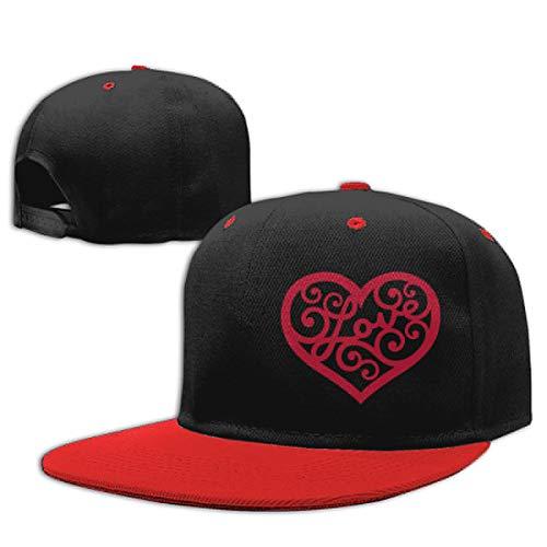 Baby Boy Baseball Cap Topiary Hearts-2 Adjustable Snapback Sun Hat ()