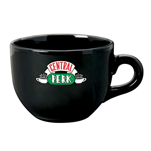 Friends Television Sitcom 24 Ounce Central Perk Ceramic Coffee Cup Soup Mug